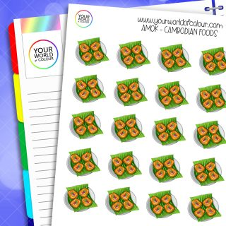 Amok Planner Stickers