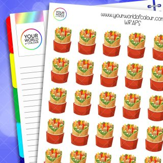 Wraps Planner Stickers