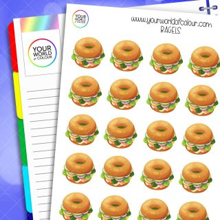 Bagels Planner Stickers