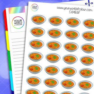 Sambar Planner Stickers