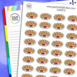 Samosa Planner Stickers
