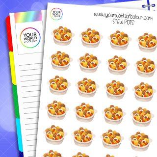 Stew Pots Planner Stickers