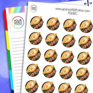 Kebab Planner Stickers