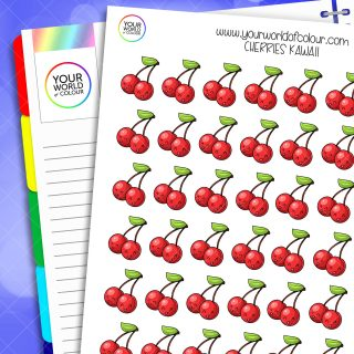 Cherries Planner Stickers