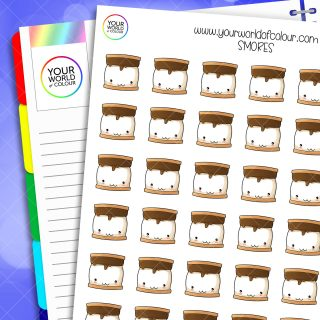 Smores Planner Stickers