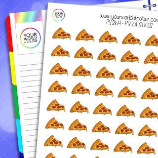 Pizza Slice Planner Stickers