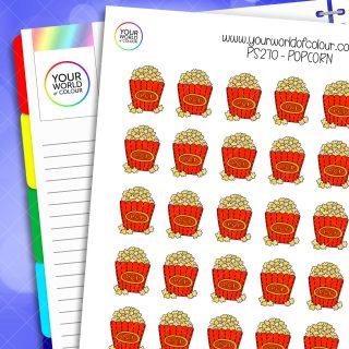 Popcorn Planner Stickers