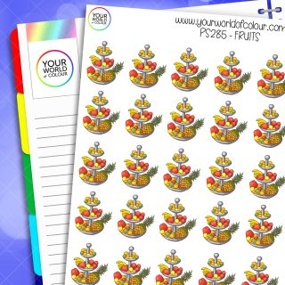 Fruits Planner Stickers