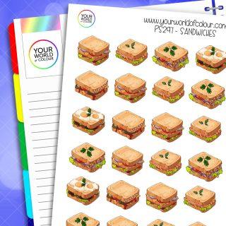 Sandwiches Planner Stickers