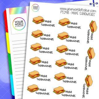 Make Sandwiches Planner Stickers