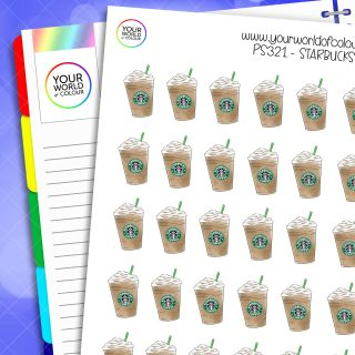 Starbucks Planner Stickers 2.0