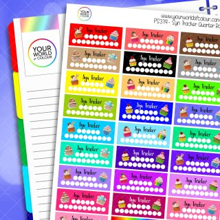 Syn Tacker Planner Stickers