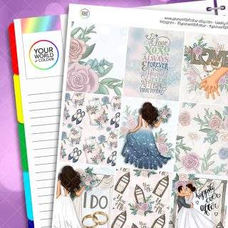 Happily Ever After Erin Condren Weekly Kit