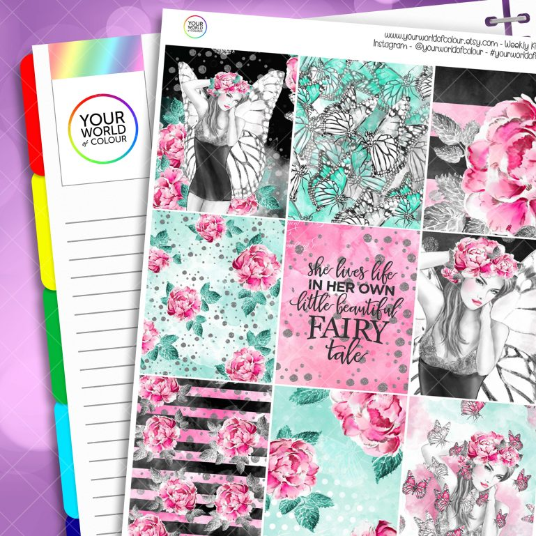 Fairy Life Erin Condren Weekly Kit