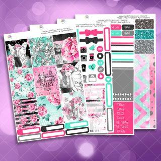 Fairy Life Full Four Sheet Weekly Planner Sticker Kit