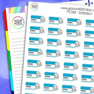Antibiotics Planner Stickers