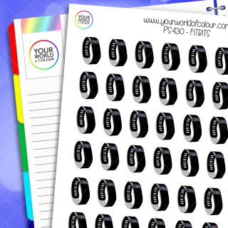 Fitbit Planner Stickers