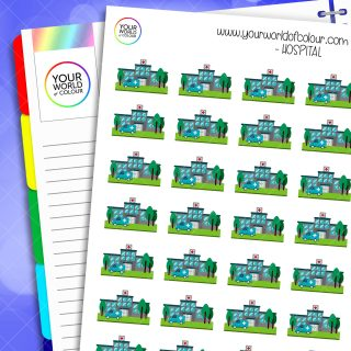 Hospital Planner Stickers