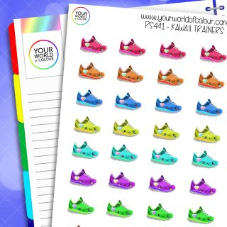 Trainers Planner Stickers