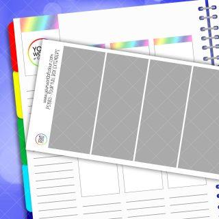 Full Box Extender Planner Stickers