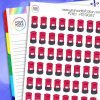 Postbox Planner Stickers