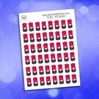 Postbox Planner Sticker