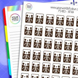 Xray Planner Stickers