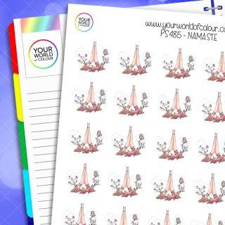 Namaste Planner Stickers