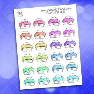 Printer Planner Sticker