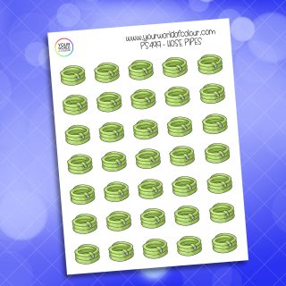 Hose Pipes Planner Sticker