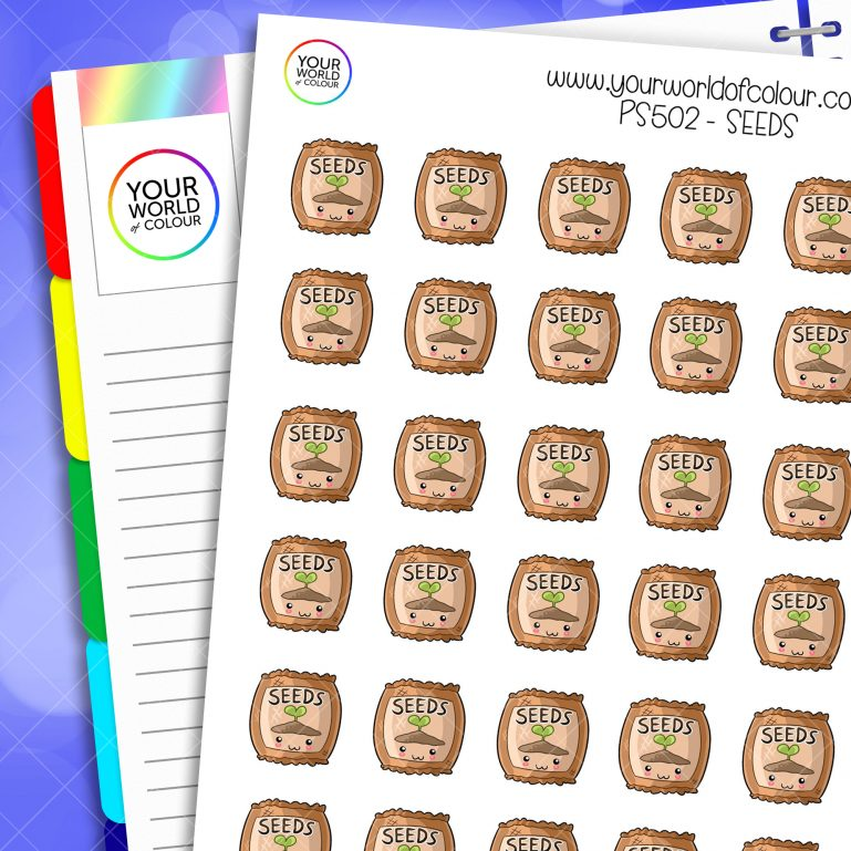 Seeds Planner Stickers