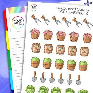 Gardening Planner Stickers 1.0