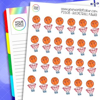 Basketball Planner Stickers