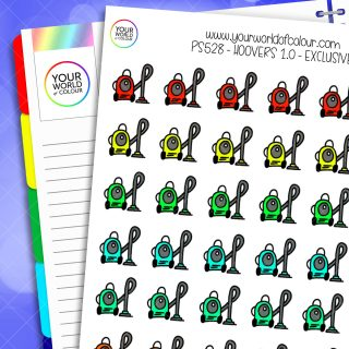 Hoovers Planner Stickers 1.0