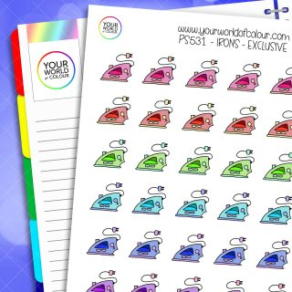 Iron Planner Stickers