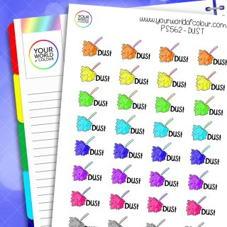 Dust Planner Stickers
