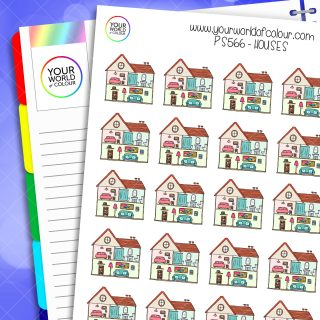House Planner Stickers