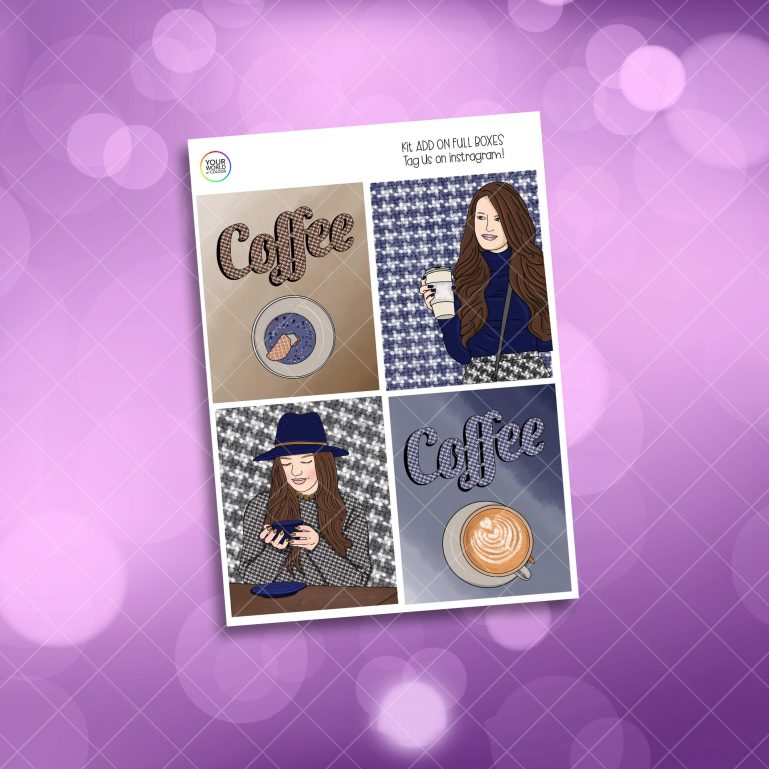 Coffee Girl Four Full Boxes Add On