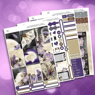 Lupin's Fear Full Four Sheet Weekly Planner Sticker Kit