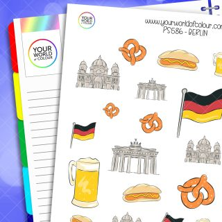 Berlin Planner Stickers