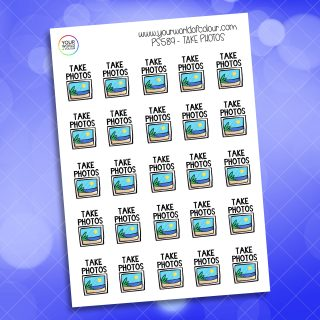 Take Photos Planner Sticker