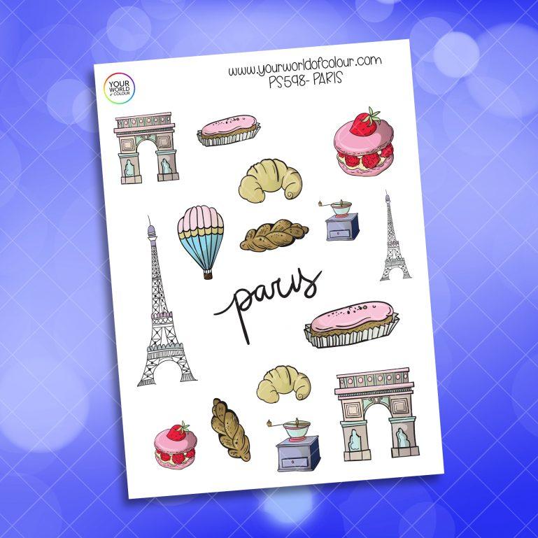Paris Planner Sticker