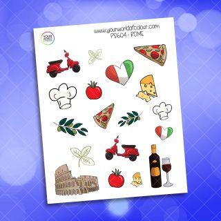Rome Planner Sticker