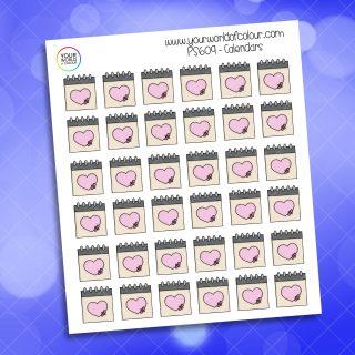 Calendar Planner Sticker