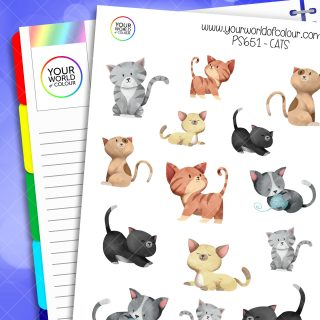 Cats Planner Stickers