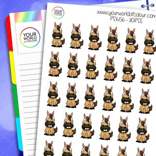 Horse Planner Stickers