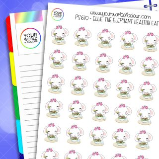 Ellie Healthy Eating Planner Stickers