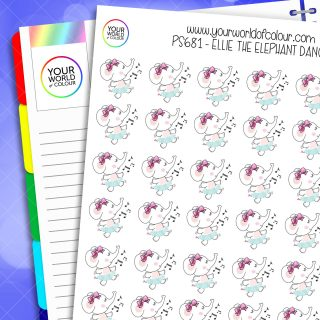 Ellie Dance Planner Stickers