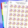 Narwhal Nap Planner Stickers