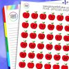 Apple Date Cover Planner Stickers